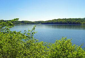 Lake Gleneida - From east shore, looking south