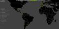 Global distribution of Wikipedia edits - Heat map, Spanish.png