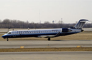 United Express - A United Express CRJ-700 in the 1997-2010s livery