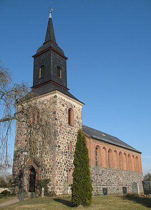 Kloster Lehnin - Image: Goehlsdorf church
