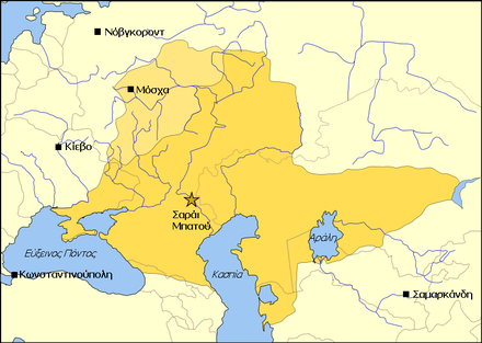 The full extent of Tokhtamysh's authority. Golden Horde 1389 el.PNG