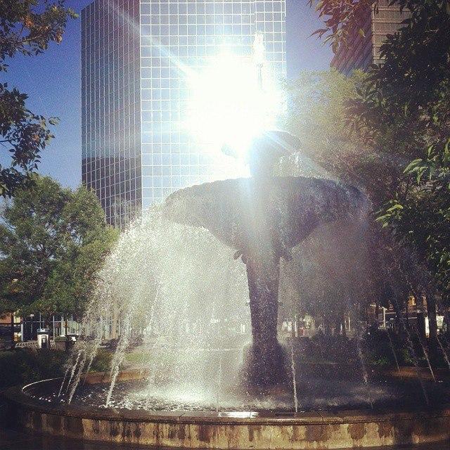 Gore Park Fountain - Hamilton
