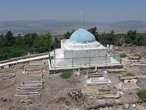 Dihyah Kalbi - Traditional burial place of Dihyah Kalbi (Wahi al-Kalbi) in Ed Dahi, Israel