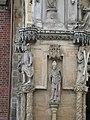 Gothic statues-Portal- St. John the Baptist in Wrocław.jpg