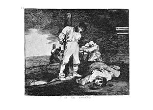Duck, You Sucker! - Goya's work inspired Giuseppe Ruzzolini's cinematography for the execution scene.