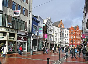 Once (film) - Hansard's busking scenes were filmed on Grafton Street.