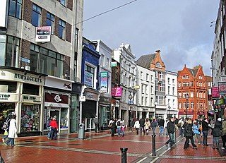 Grafton Street Street in Dublin, Ireland