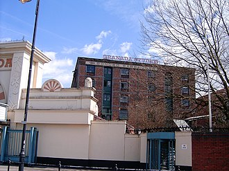 Granada Studios - The warehouse next to Granada Studios where Granada house offices and produce some programmes such as Granada Reports