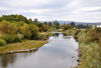 Grande Ronde River - The Grande Ronde River at Elgin, Oregon