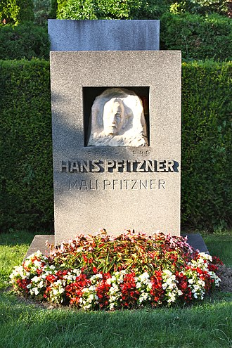 Hans Pfitzner - Hans Pfitzner's grave in Vienna