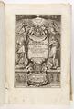 """Graverat titelblad, """"Danicorum monumentorum libri sex..."""", 1643 - Skoklosters slott - 93390.tif"""