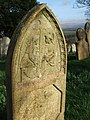 Gravestone, Bratton Clovelly - geograph.org.uk - 364977.jpg