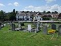 Graveyard, pub and brewery - geograph.org.uk - 903600.jpg
