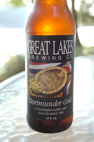 Dortmunder Export - An example of a beer brewed in USA, and termed Dortmunder