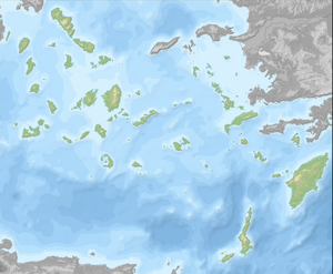 South Aegean - South Aegean topographic map