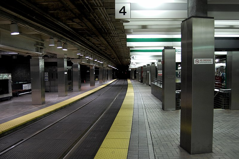 File:Green Line northbound track at Park Street, May 2008.jpg