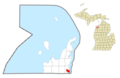 Greilickville, MI location.png