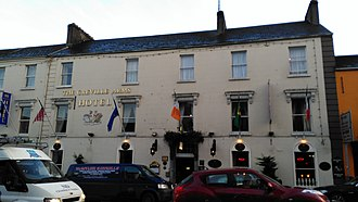 Greville Arms Hotel - The exterior of the hotel on Pearse Street, Mullingar
