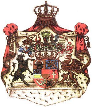 Borwin, Duke of Mecklenburg - Image: Grosses wappen MST