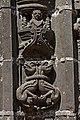 Guimiliau - Enclos paroissial - le portail - Statue du piédroit - PA00089998 - 011.jpg