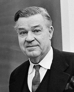 Gunnar Myrdal - Gunnar Myrdal in January 1964