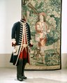 Gustav IIIs franska jaktdräkt, använd vid hovjakt i Versailles 1771 - Livrustkammaren - 47822.tif