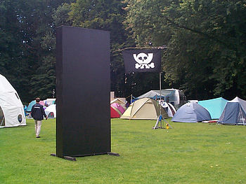 English: Monolith as displayed at the