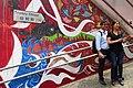 HK 中環 Central 些利街 Shelley Street 香取慎吾 Shingo Katori wall painting Grafitti April 2018 IX2 08.jpg