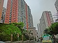HK 北角半山 North Point Mid-Levels 雲景道 77 Cloud View Road view Coral Court facades Apr-2014 Beverley Heights.JPG