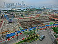 HK Central IFC terrace view 06 construction site 金融街 Finance Street May-2013.JPG