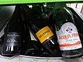 HK SYP 西環 Sai Ying Pun 皇后大道西 Queen's Road West glass wine bottles recycle bin May 2019 IX2.jpg