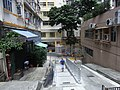 HK Sheung Wan Po Hing Fong fences Po Yan Street Aug-2012.JPG