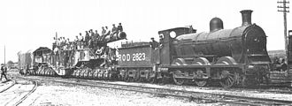 Caledonian Railway 812 and 652 Classes - A Type 30 engine used by the Railway Operating Division