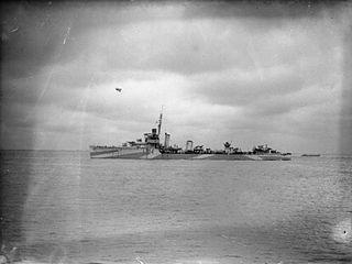 HMS <i>Windsor</i> (D42) Royal Navy destroyer