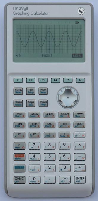 HP 39/40 series - HP 39Gii