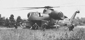 Sikorsky CH-37 Mojave - HR2S-1 of the USMC in 1956