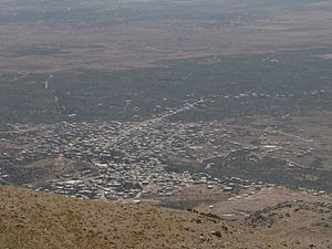 Hader, Quneitra Governorate - Hader viewed from a height