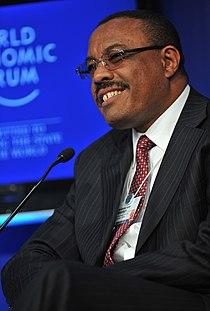 Hailemariam Desalegn - Closing Plenary- Africa's Next Chapter - World Economic Forum on Africa 2011.jpg