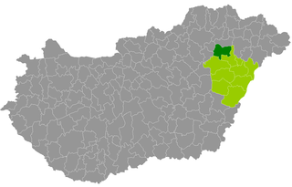 Hajdúnánás District Districts of Hungary in Hajdú-Bihar