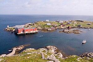 Frøya, Sør-Trøndelag - Halten, view from Halten lighthouse