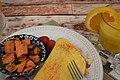 Ham & Cheddar Omelet (4) (24403024518).jpg