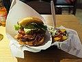 Hamburger at Friends & Brgrs Iso Omena.jpg