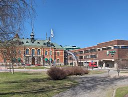 Haparanda hotel and city hall.JPG