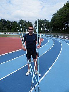 Gerhardus Pienaar South African javelin thrower