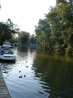 Harrods Creek, Louisville - Recreational boating has long been popular in the Harrods Creek area