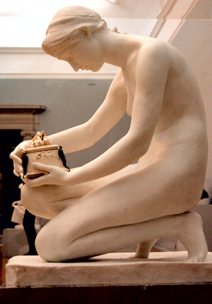 Harry Bates (sculptor) - Bates's statue of Pandora, owned by Tate Britain but seldom displayed publicly