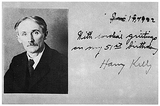 Harry Kelly (anarchist) - Image: Harry Kelly, 1922