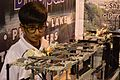 Harshit Agarwal with Automatic Idols Immersion System - We Care Stall - Indian National Championship - WRO - Kolkata 2016-10-23 1601.JPG