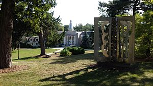 Ripon College (Wisconsin) - Harwood Memorial Union.