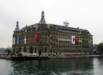 Kadıköy - Haydarpaşa Terminal of the Turkish State Railways, near Kadıköy centrum